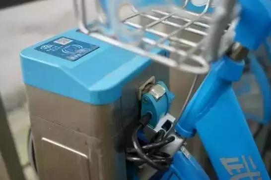 摩拜单车电子锁内部结构